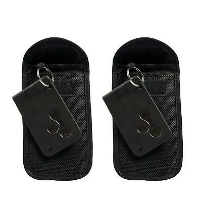 2x Car Key Signal Blocker RFID Faraday Protection Keyless Anti-Theft Pouch Bag
