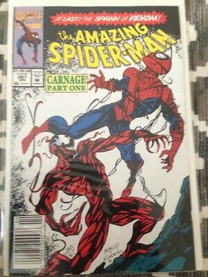 Amazing Spider-Man Issues #334-#377 - Incl 1st appearance of Carnage #361-363