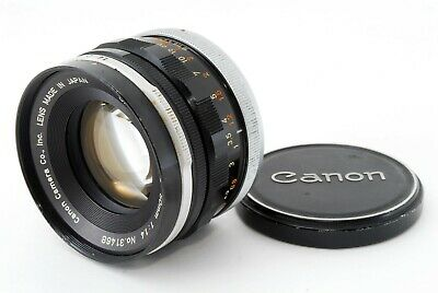 [EXC+] CANON FL 50mm f/1.4 MF Lens FD/FL Mount from JAPAN #C1497