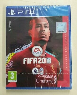 FIFA 20 Champions Edition - PS4 - New & Sealed