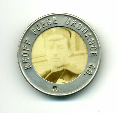 WW1 Kropp Forge Ordnance Company badge - Illinois - ammo munitions depot works