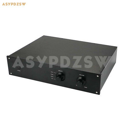 WA70 Rounded Aluminum chassis Preamp enclosure Tube amplifier case 280*320*70