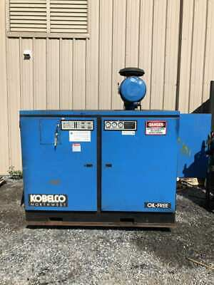 Kobelco KNW I-C/L 100HP Two-Stage Rotary Screw Air Compressor 3PH -Parts/Repair