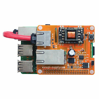 Pi Supply PIS-0250 PoE Switch Power Over Ethernet for Raspberry Pi