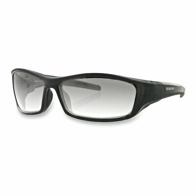 Bobster Hooligan Street Sunglasses Black With Clear Photochromic Lenses