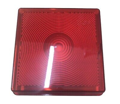 Red Tail Stop Brake Lens Light Lamp For Ifor Williams Horse Trailer Replacement