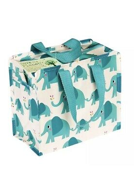 Eco Friendly Lunch Bag Made With Recycled Bottles Elvis Elephant Design school