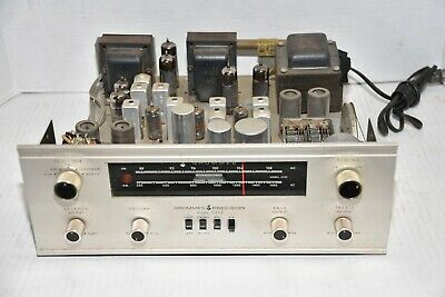 Vintage GROMMES PRECISION model C502 AM FM Stereo TUBE Receiver