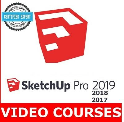 SketchUp 2019 COMPLETE VIDEO TUTORIAL - SketchUp Pro 2019 Essential Training
