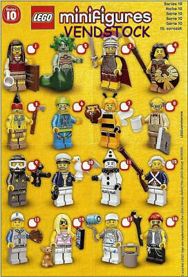 Lego 71001 Series 10 Lego Minifigures Brand New Pick The Figure You Want