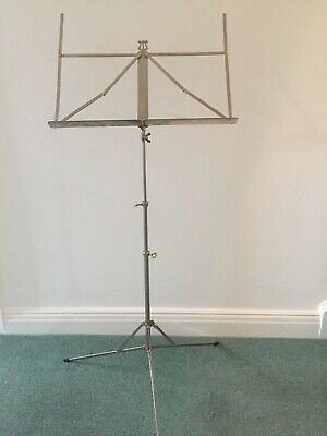 Silver Fully Adjustable Music Stand