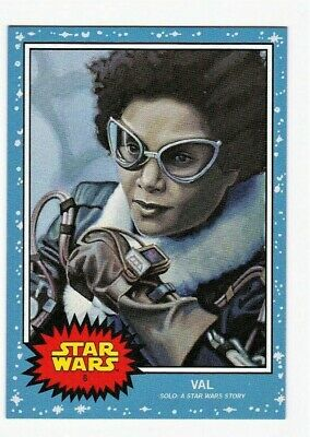 2019 Topps Star Wars Living Set Card #06 Val Same Day Shipping