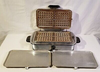 ThriftCHI ~ Vintage Kenmore Waffle Iron