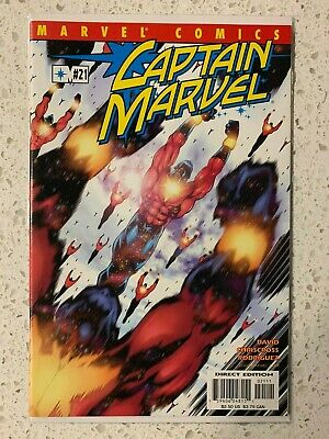 CAPTAIN MARVEL #21 1st print MARVEL 1999 4th series Appearance of Big Mother