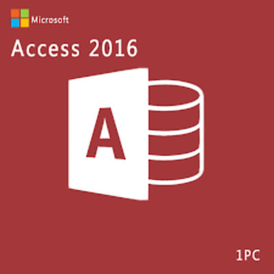 MS Access 2016 Professional PRO 2016 Key FOR 1 PC GENUINE