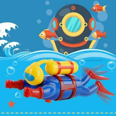 Swimmer Scuba Diver Toy Wind Up Clockwork Sea Baby Bath Toy Kids Toy
