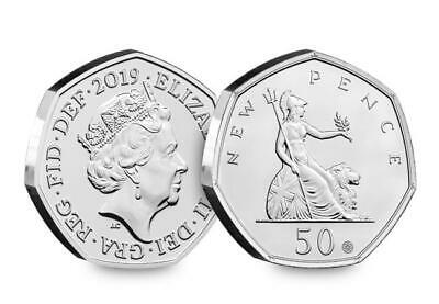 Own the 50 Years of the 50p Anniversary Coin - with THREE special features!