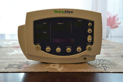 Welch Allyn Model 53NOP blood pressure and SpO2 monitor