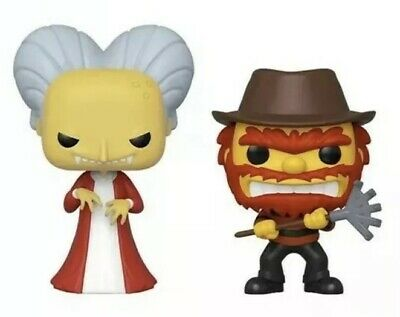 Pre-Order Funko Pop! Simpsons Treehouse Of Horror 2Pcs Lot Nycc 2019 Shared Excl