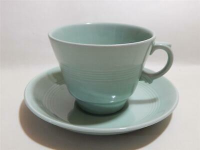 Woods ware Beryl Green Breakfast cup and saucer