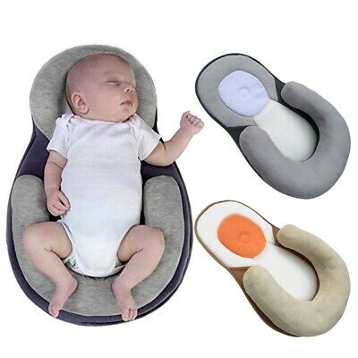 Baby Anti Rollover Mattress Pillow Crib Bed Cradle Supplies for 0-12 Months