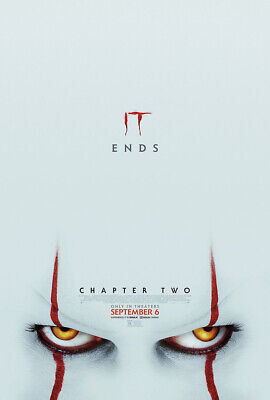 IT Chapter Two Original Movie Poster Double Sided Final Style - Skarsgard McAvoy