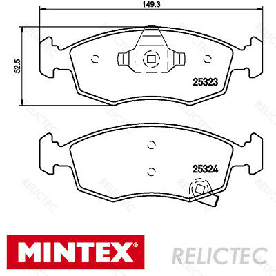 Front Brake Pads Set Fiat Lancia Chrysler:PANDA,YPSILON 77365927 77365945