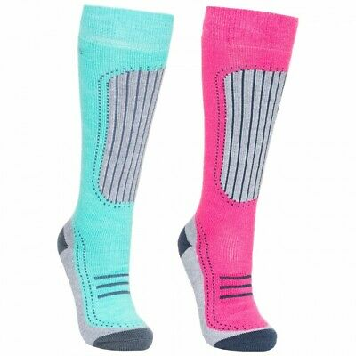 Ladies Trespass Janus 2 Pack Ski Socks