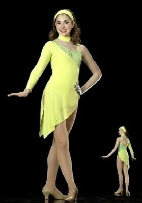 Alluring Lyrical Contemporary Clearance Ballet Dance Dress Costume Large Inv.