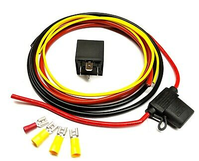 Wiring Kit for Aftermarket  Fuel Pump or Cooling Fan with Relay KIT009