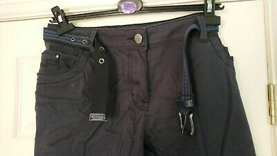 New Navy cotton trousers/jeans from Asda George Size 18 Brand New never worn