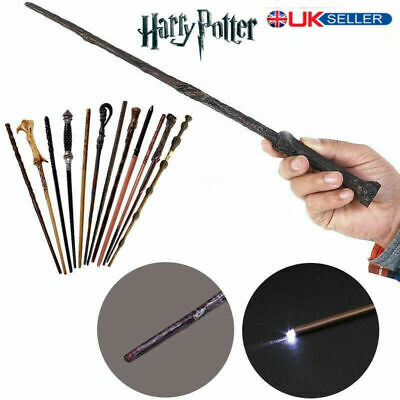 Harry Potter Magic Wand LED Light-up Dumbledore Voldemort Christmas Cosplay Gift