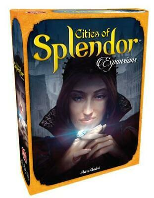 Asmodee Boardgame Cities of Splendor Expansions Box SW
