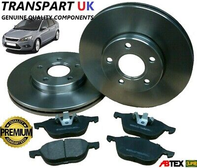 For Focus MK2 1.4 1.6 2004-2010 Front Vented 278MM Brake Discs /& Brake Pads Set
