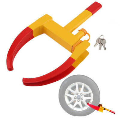 Heavy Duty Car Tyre Wheel Clamp Parking Boot Trailer Anti Theft Tire Claw Lock