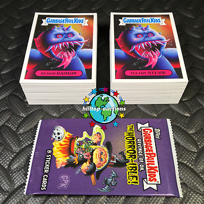 Garbage Pail Kids Revenge Of Oh, The Horror-Ible 2019 200-Card Set+Promo+Wrapper