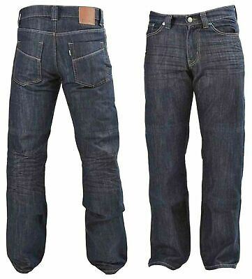 Men Denim Jeans Slim Fit Knitted DIVALO® Jean Made With DuPont™ Motorcycle Pants
