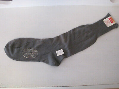 NOS Vintage Penney's Foremost Gray Cotton Nylon Socks Size 10.5