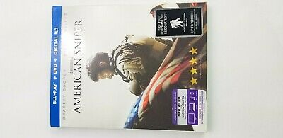 AMERICAN SNIPER Cooper Miller Brand New Blu-Ray + DVD + Digital HD