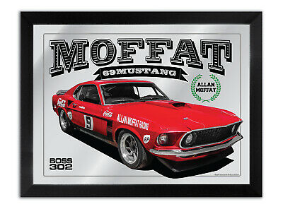 Bar Mirror Suit Allan Moffat 1969 Coca Cola Mustang Boss 302 Collection