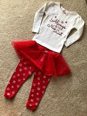 Carters 18 Months Toddler Girl Christmas Holidays Outfit Set
