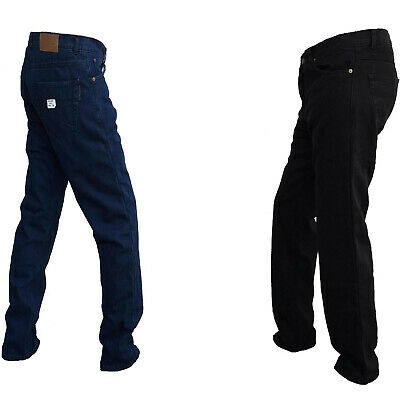 Mens Motorcycle Jeans Reinforced Motorbike Jean Made With DuPont™ Kevlar® Blue
