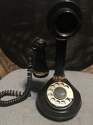 Rotary phone candlestick rotary Antique