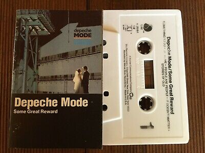 DEPECHE MODE...SOME GREAT REWARD - -1984 U.S Cassette Tape