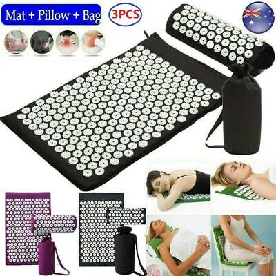 Yoga Massage Acupressure Mat Shakti Sit Lying Mats Pain Stress Soreness Relax