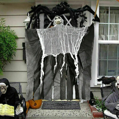 Halloween Skeleton Hanging Ghost Scary Horror Death Props DIY Party Door Decor