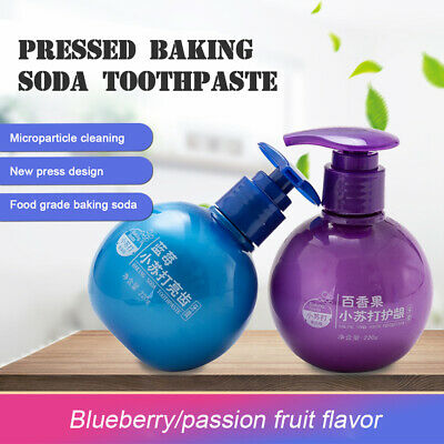 Fruity Natural Intensive Stain Removal Toothpaste Whitening Fight Bleeding Gums