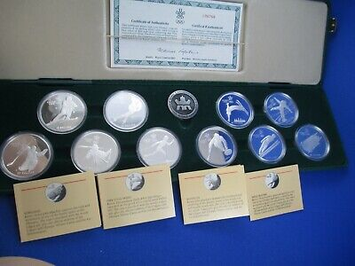 1988 Canada Calgary Olympic Winter Games - Proof Coin Set. Royal Canadian Mint