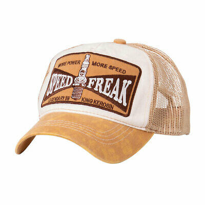 King Kerosin Speed Freak Cap Brown / White