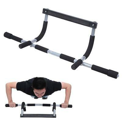 Doorway Pull Up Bar Chin Body Strength Exercise Door Mounted Workout Arm Home